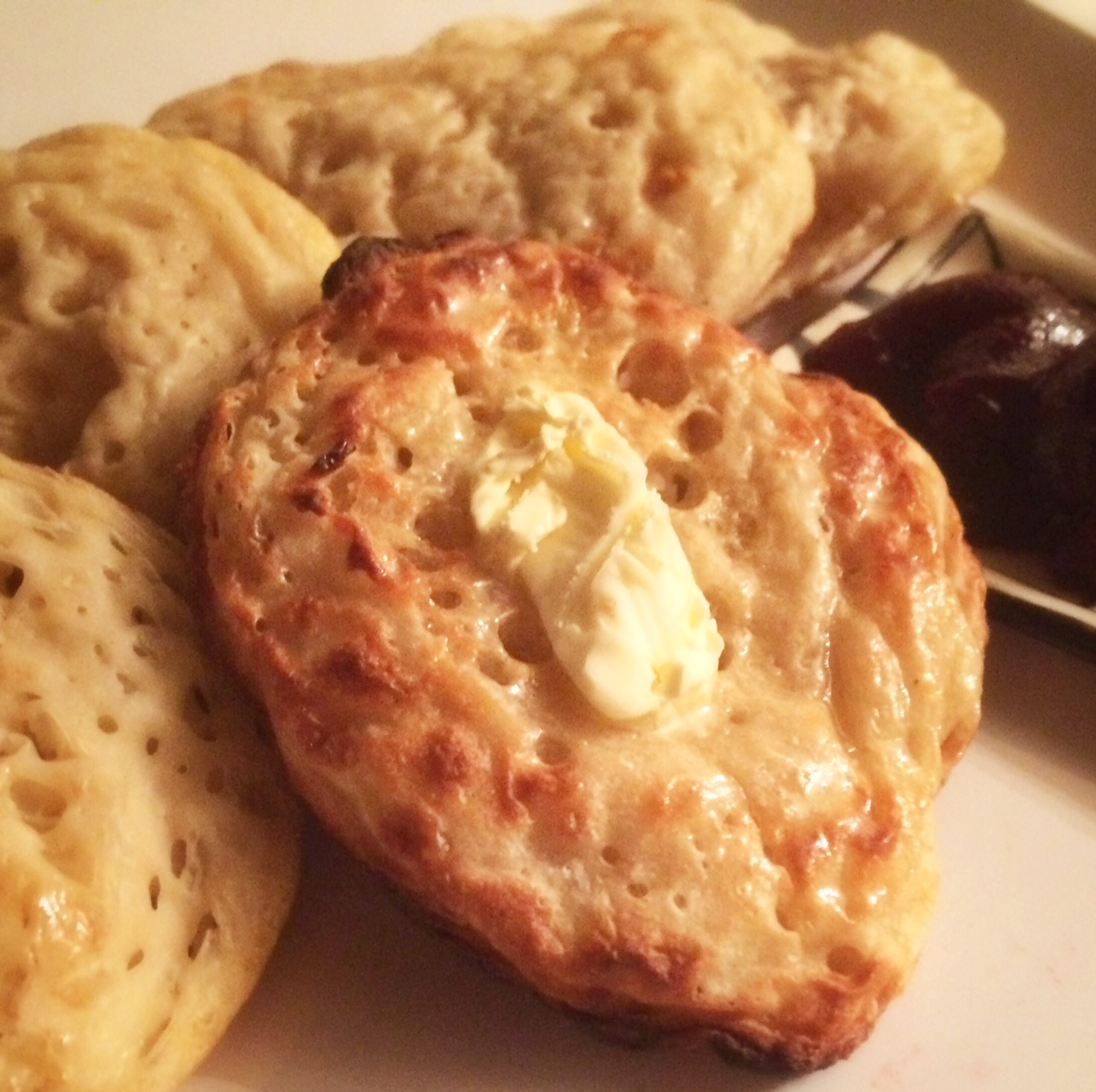 These crumpets are good enough for a Jane Austen character