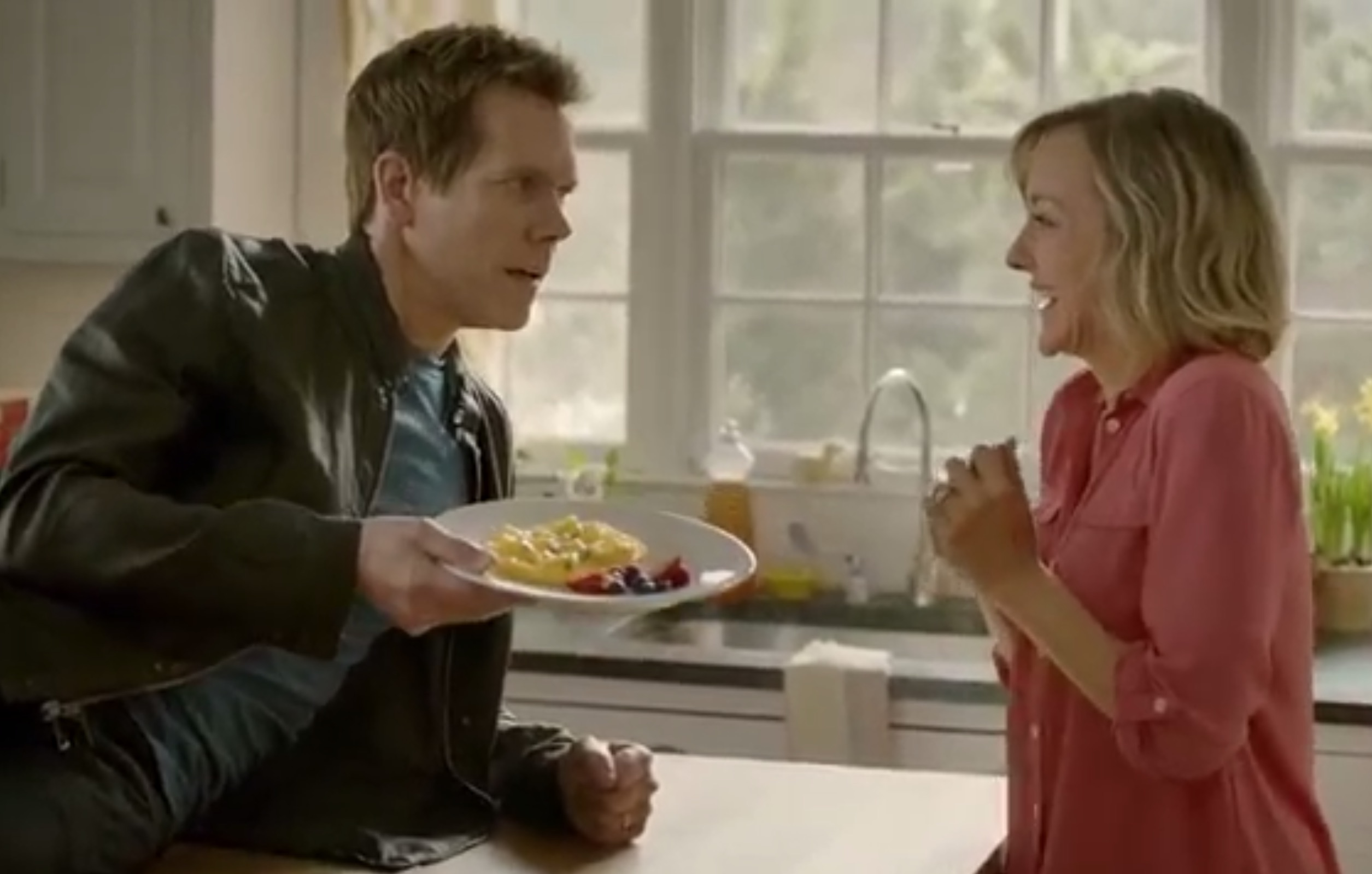 So Kevin Bacon did an ad about eggs, and it is AWESOME