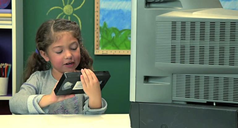 It's only Tuesday, but kids reacting to VCRs is already our favorite video of the week