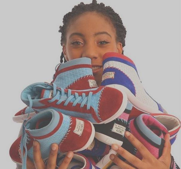 Our fave baseball player, Mo'Ne Davis, has a new sneaker line we're totally into