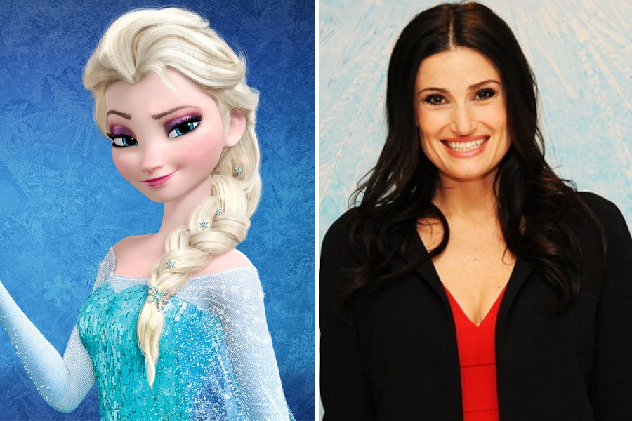 Stop everything: Idina Menzel is (basically) becoming Elsa IRL