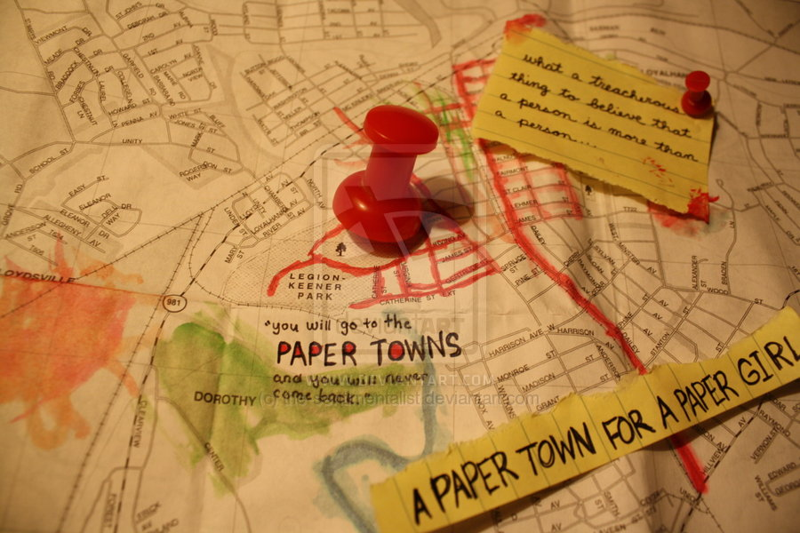 Margo Roth Spiegelman got it wrong — John Green explains what paper towns actually are (historically, speaking)