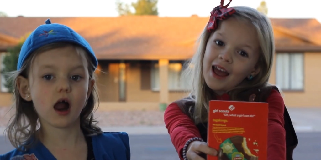 These Girl Scouts do the best Taylor Swift parody ever to sell cookies