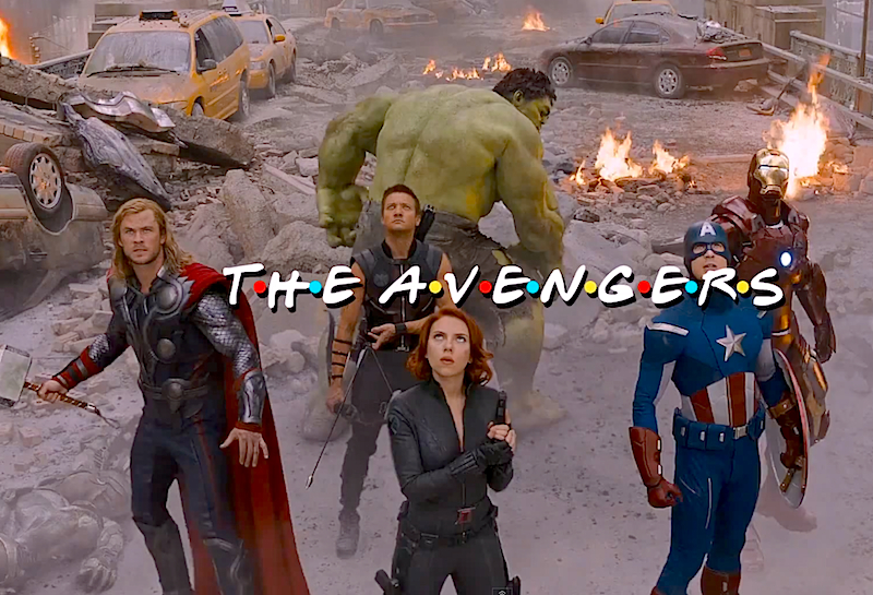 The Avengers get their own 'Friends' style intro and it's perfect!