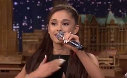 Ariana Grande does the best '90s Celine Dion impression we've ever seen