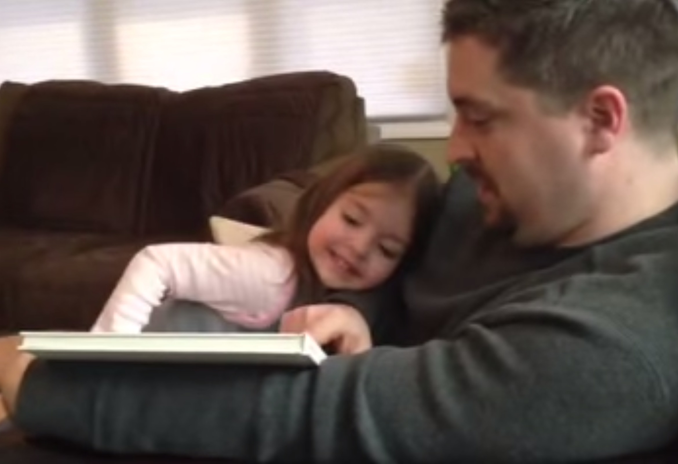 This little girl's reaction to being a big sister is perfect for every occasion