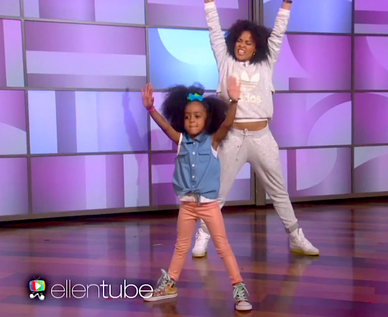 Fresher Than You: Watch four-year-old Heaven bust some Beyoncé choreography with her mom