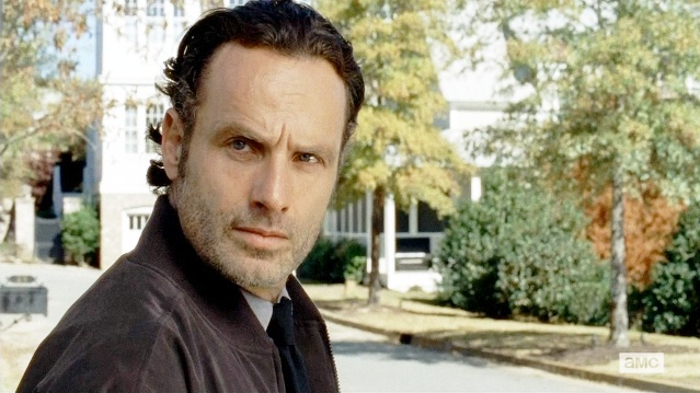 Rick Grimes is in full animal mode on 'The Walking Dead' and it's crazy
