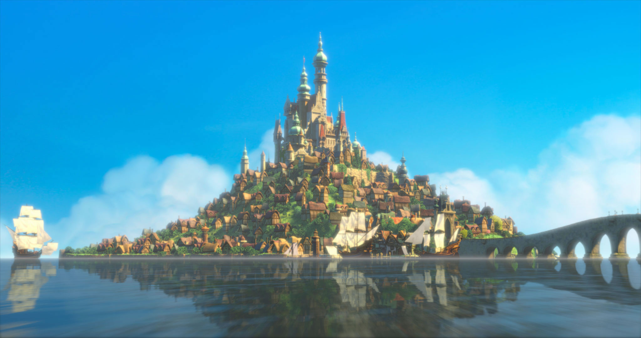 WHOA: This French monastery looks exactly like Rapunzel's castle from 'Tangled'
