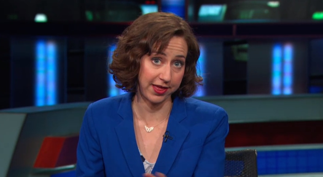 Kristen Schaal's epic wage equality segment will go down in 'Daily Show' history
