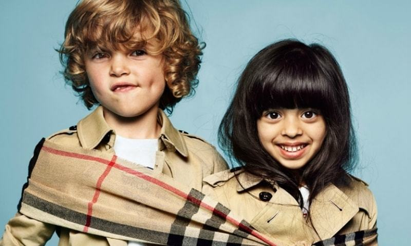 Meet Burberry's first Pakistani model. She's five years old and she rules!