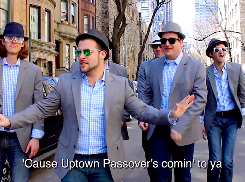 Uptown Passover: Six13 is taking their seder uptown with this a capella 'Uptown Funk' cover