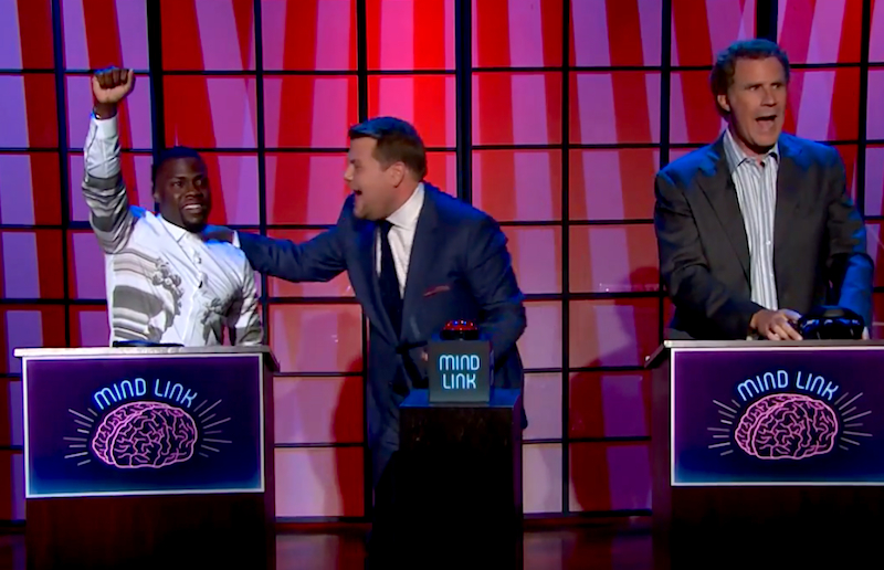 Will Ferrell and Kevin Hart play Mind Link and discover the funniest thing in the world!