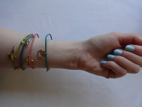 DIY arm candy: Make your own stacking leather bracelets