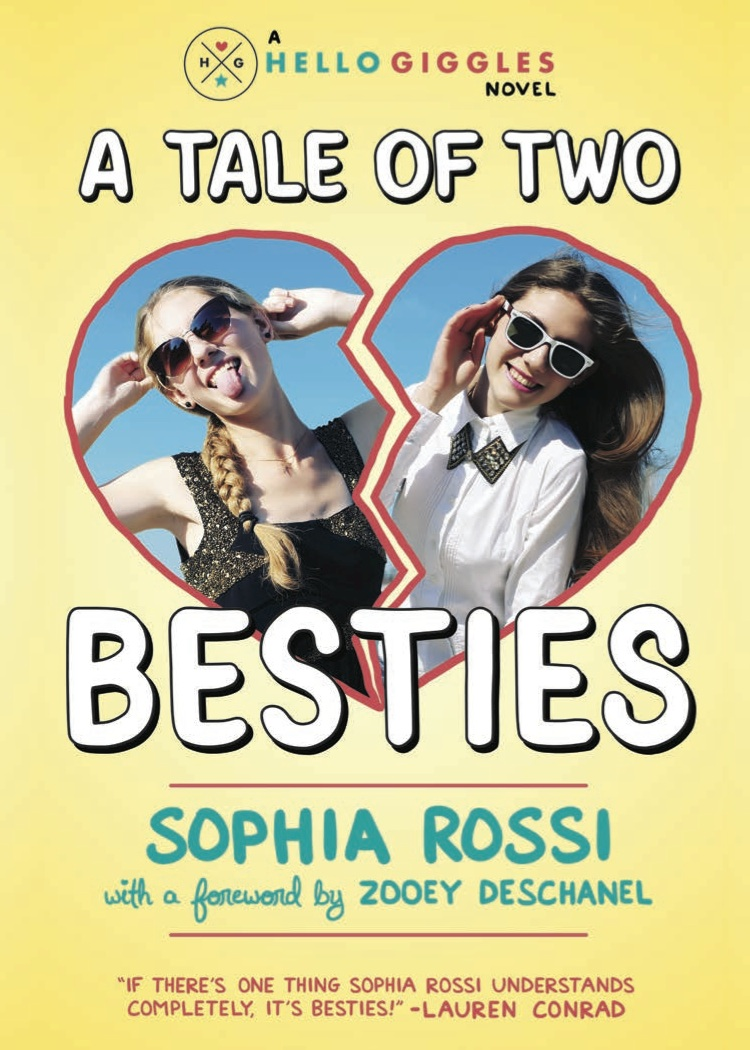Announcing 'A Tale of Two Besties' book tour: We're coming to a city near you!