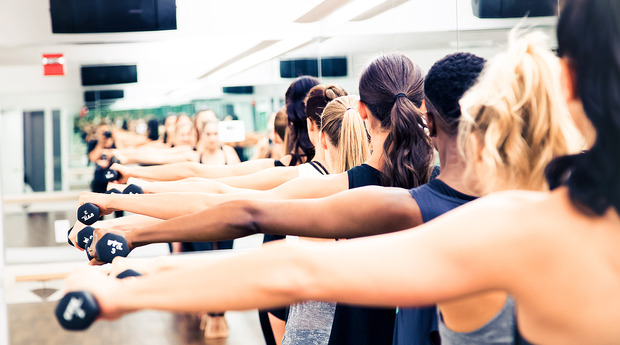 Things you learn quickly in a FlyBarre class