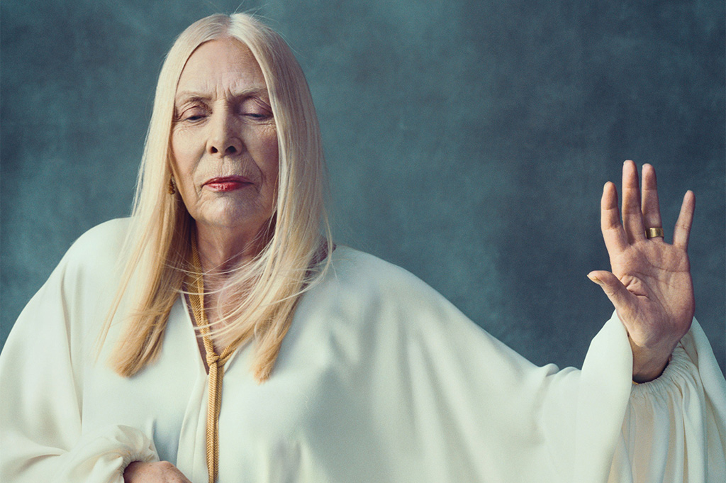 Our thoughts are with Joni Mitchell, sending her much love