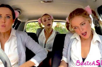 Mime Through Time: SketchSHE is back with another CARaoke lip sync through the ages!