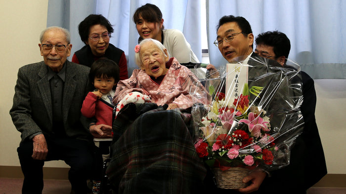 Saying goodbye to 117-year-old Misao Okawa, the world's oldest person