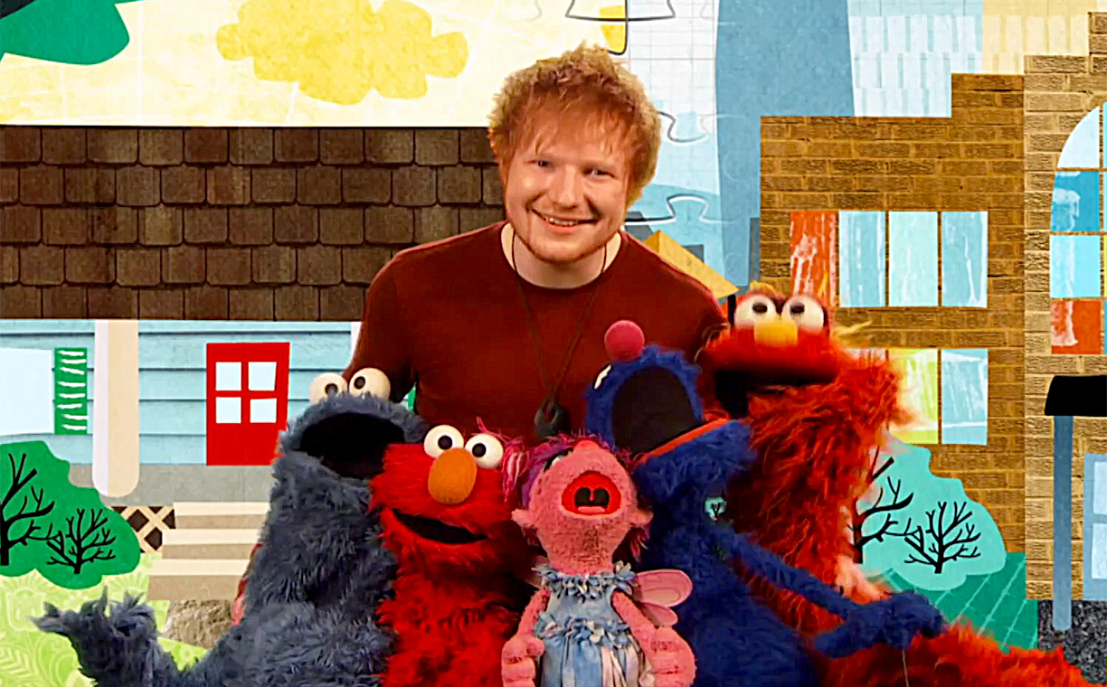 Ed Sheeran stops by 'Sesame Street,' melts our hearts