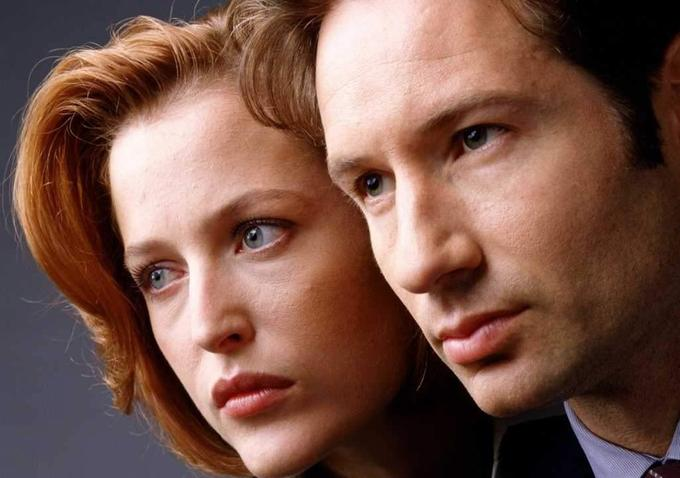 "David Duchovny teases us with tidbits about ""The X-Files"" reboot..."