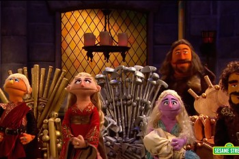 Game of Chairs: Sesame Street gets musical with this 'Game of Thrones' parody