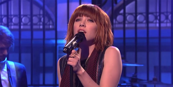 Carly Rae Jepsen debuted another new song on 'SNL' this weekend and we love it