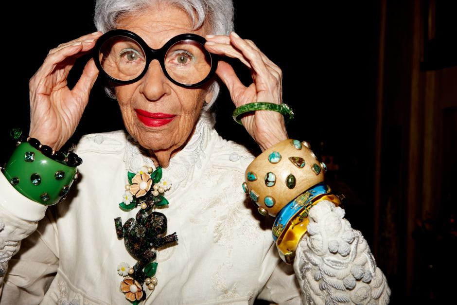 Super ready for this movie about Iris Apfel, the feminist style icon of our dreams