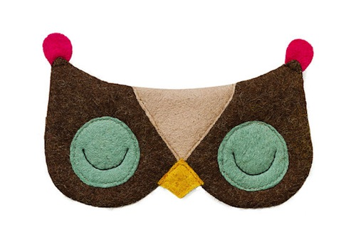 A whole roster of animal sleep masks that we need ASAP