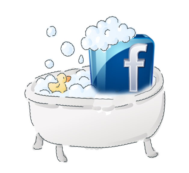 Here's what happened when I spring-cleaned my Facebook page