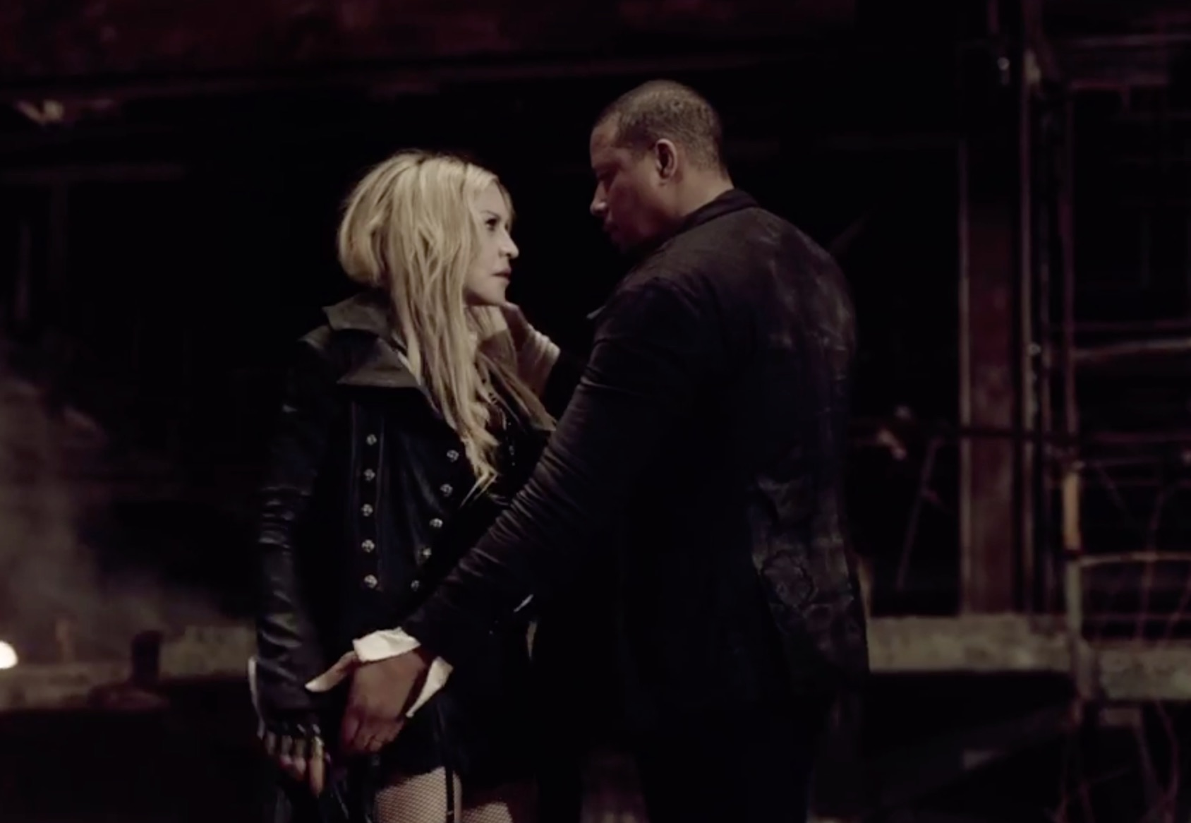 Madonna's new video for 'Ghosttown' is here and so is Terrence Howard