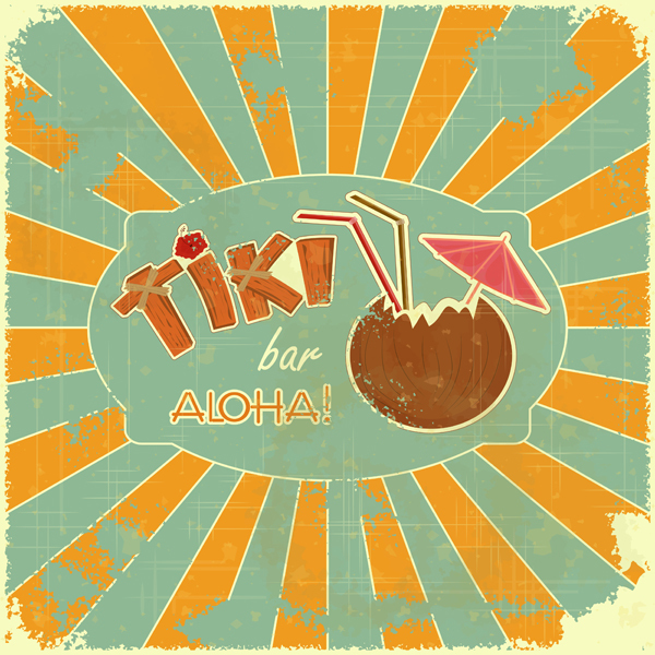 Let's have a tiki party (with dranks)!