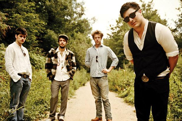 "We're swooning over Mumford & Sons' new single, ""The Wolf"""