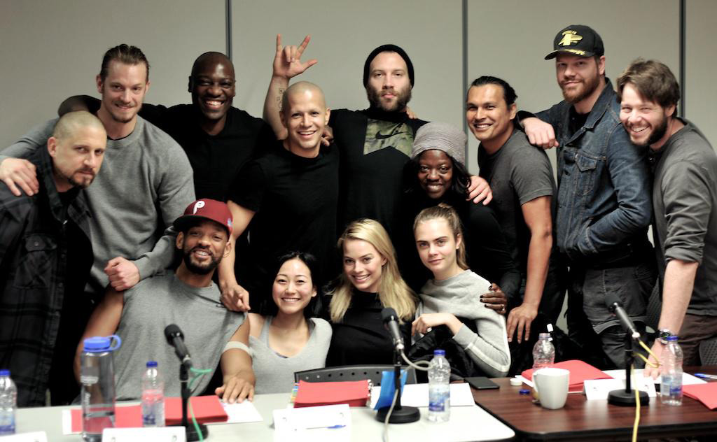 Here's the first photo of the Suicide Squad together, at last!