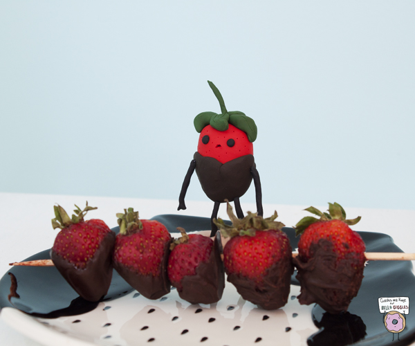 Just some strawberries celebrating strawberry season