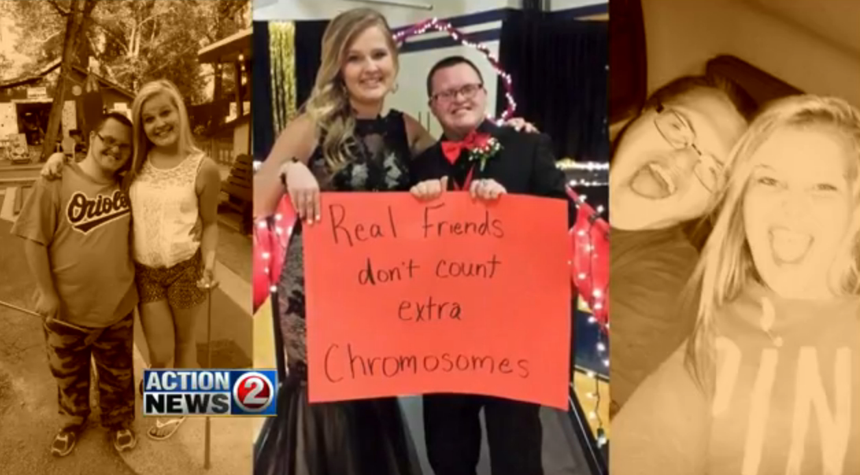 We absolutely love that these teens' inspiring prom photo went viral