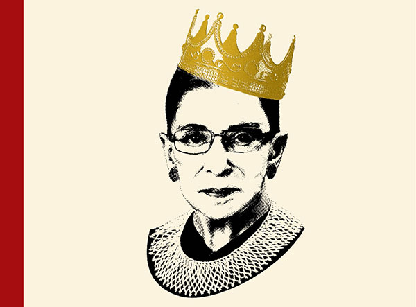 The 'Notorious RBG' book cover is just as epic as you'd expect