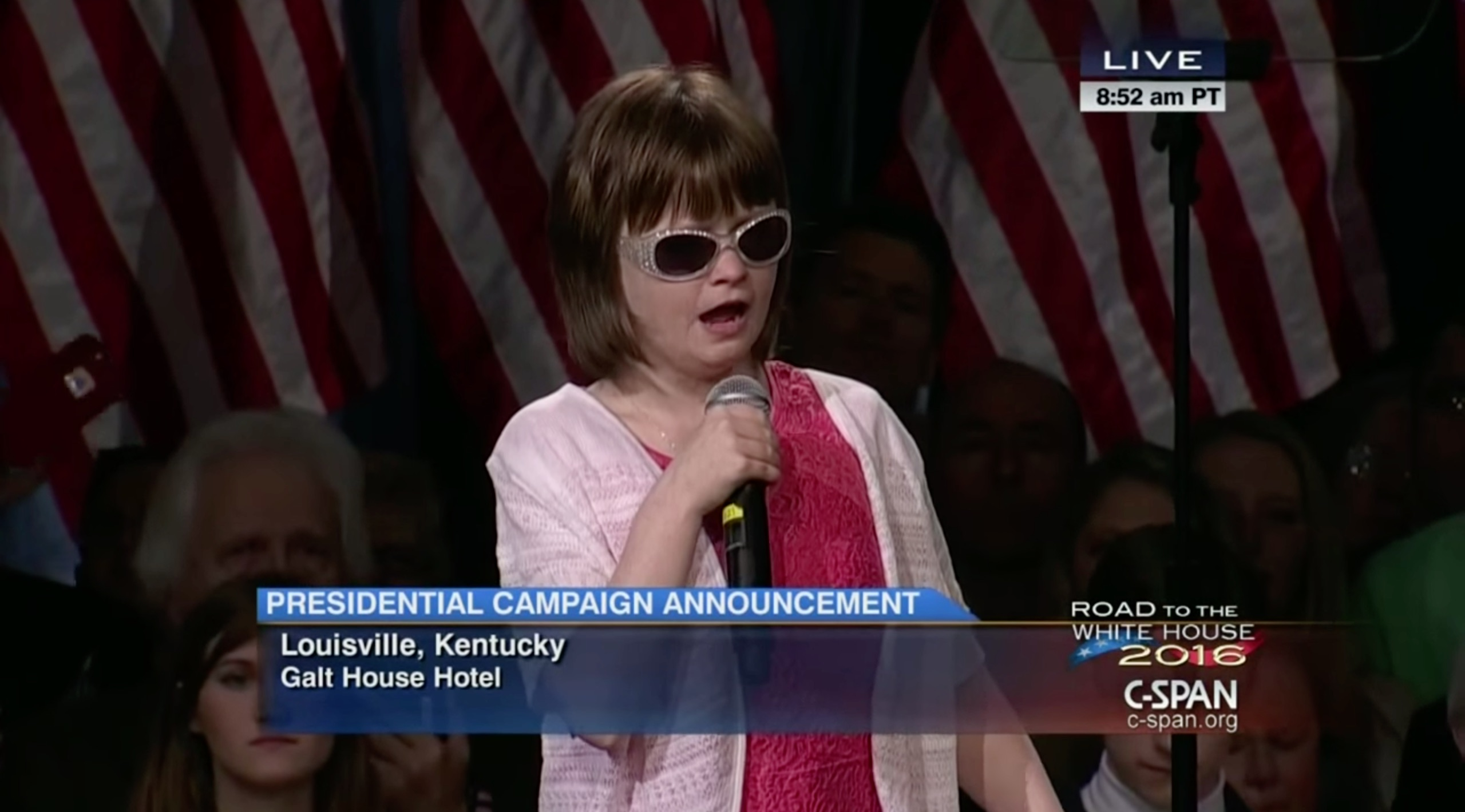 Blind teen brings down the house with her rendition of 'The Star Spangled Banner'