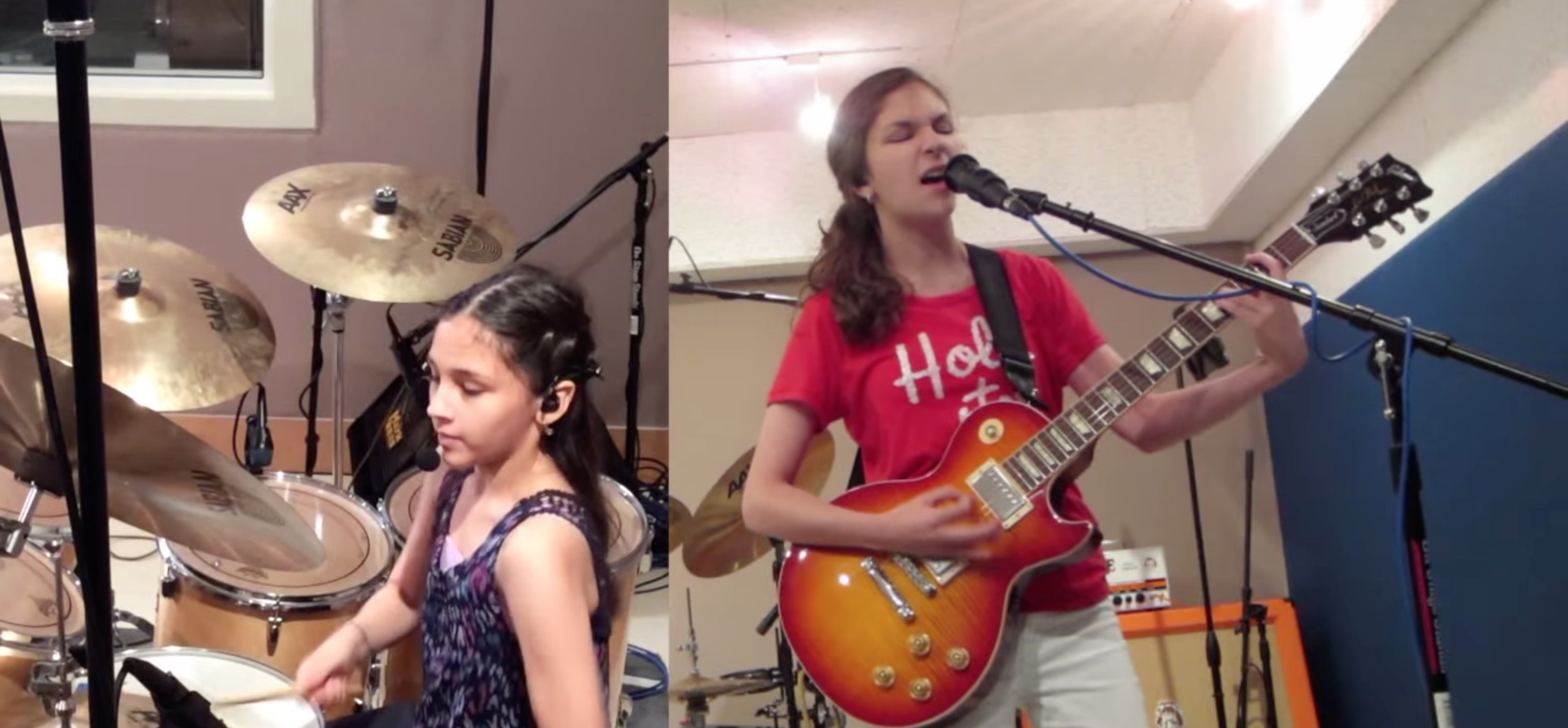 Trio of teen sisters slay Metallica's 'Enter Sandman'