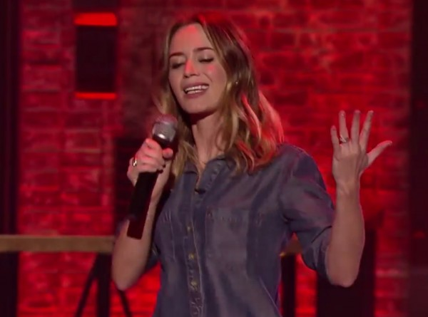Stop everything and watch Emily Blunt crush it on 'Lip Sync Challenge'