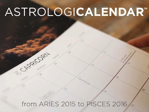 This is the calendar of all calendars for zodiac nerds