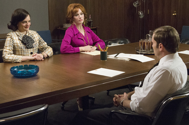 Realest Moment on TV This Week: Peggy and Joan's 'Mad Men' meeting