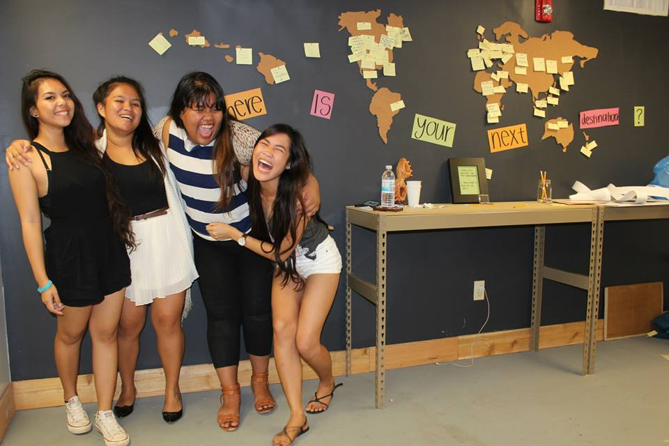 These brilliant teens built a cool space for students to work together