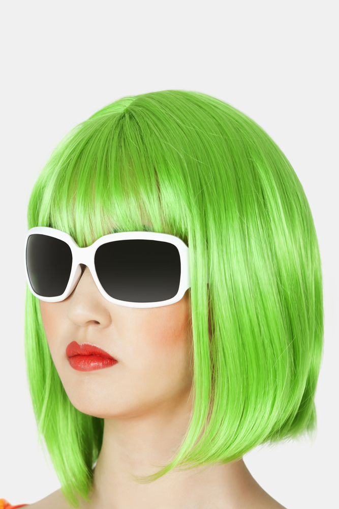 How my green hair changed the way I think about myself