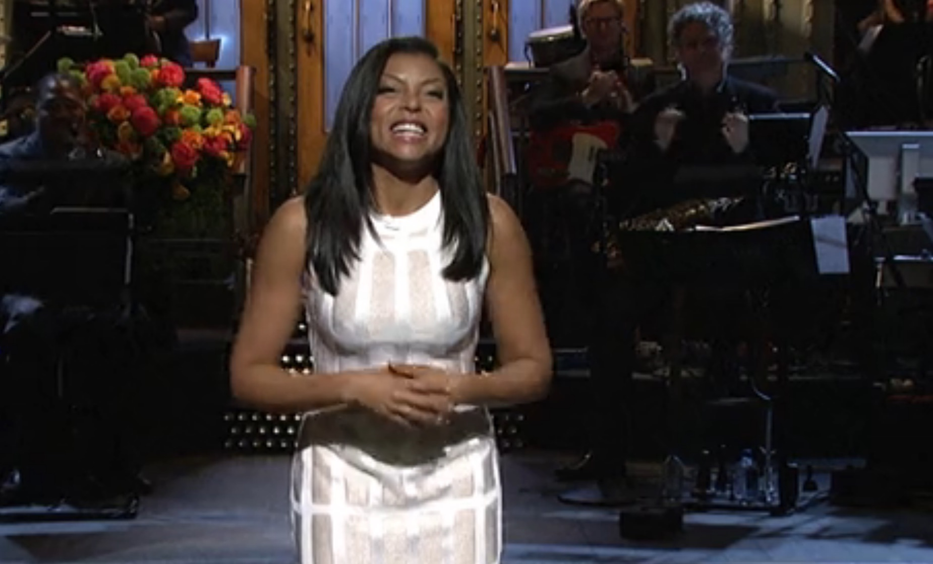Taraji P. Henson kills it in her 'SNL' opening monologue. Seriously, check it out.