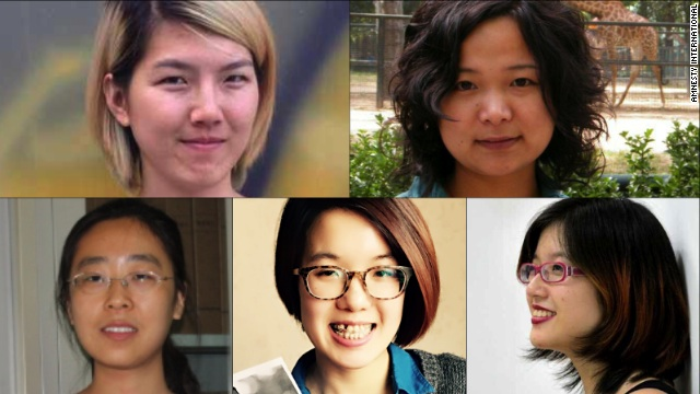 Thankfully, the five Chinese feminist activists have been released