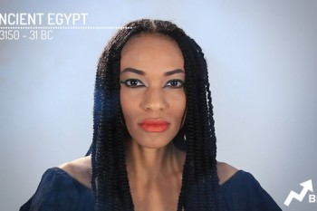 From Ancient Egypt to the 1900's, watch how much woman's makeup has changed throughout history