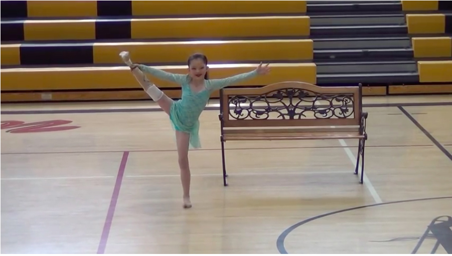 This 8-year-old girl dancing will make you cry. And that is a promise.