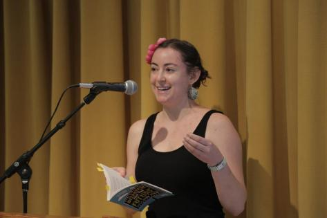 We're celebrating National Poetry Month with the inspiring Leigh Stein