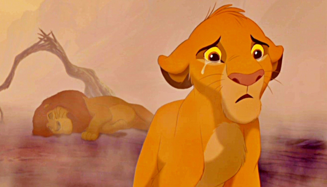 This little girl crying during 'The Lion King' is each and every one of us